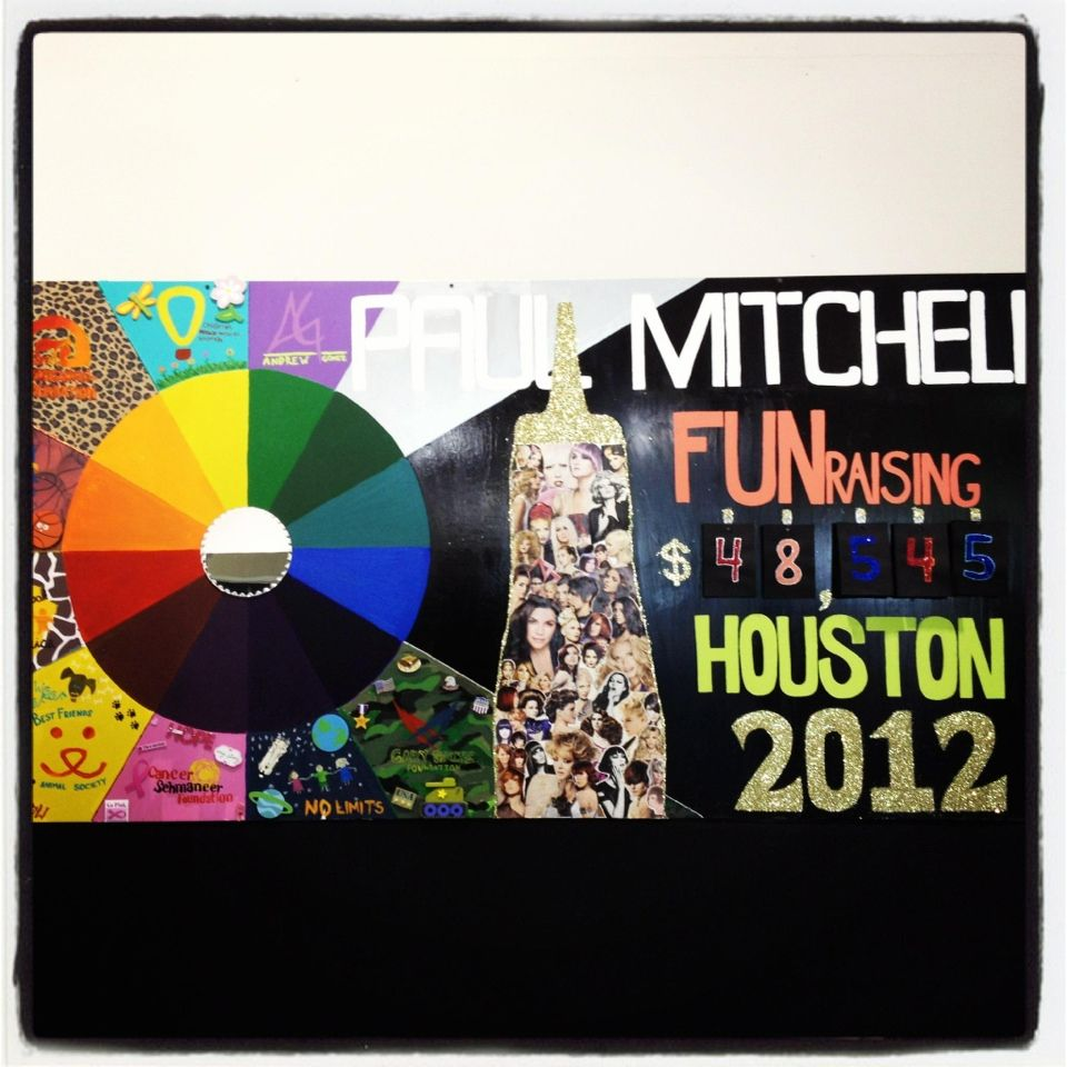 Paul Mitchell the School Houston raising 48,545 for