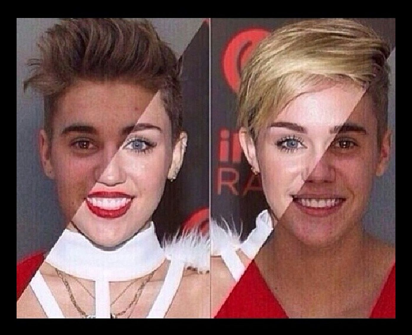 Justin and Miley