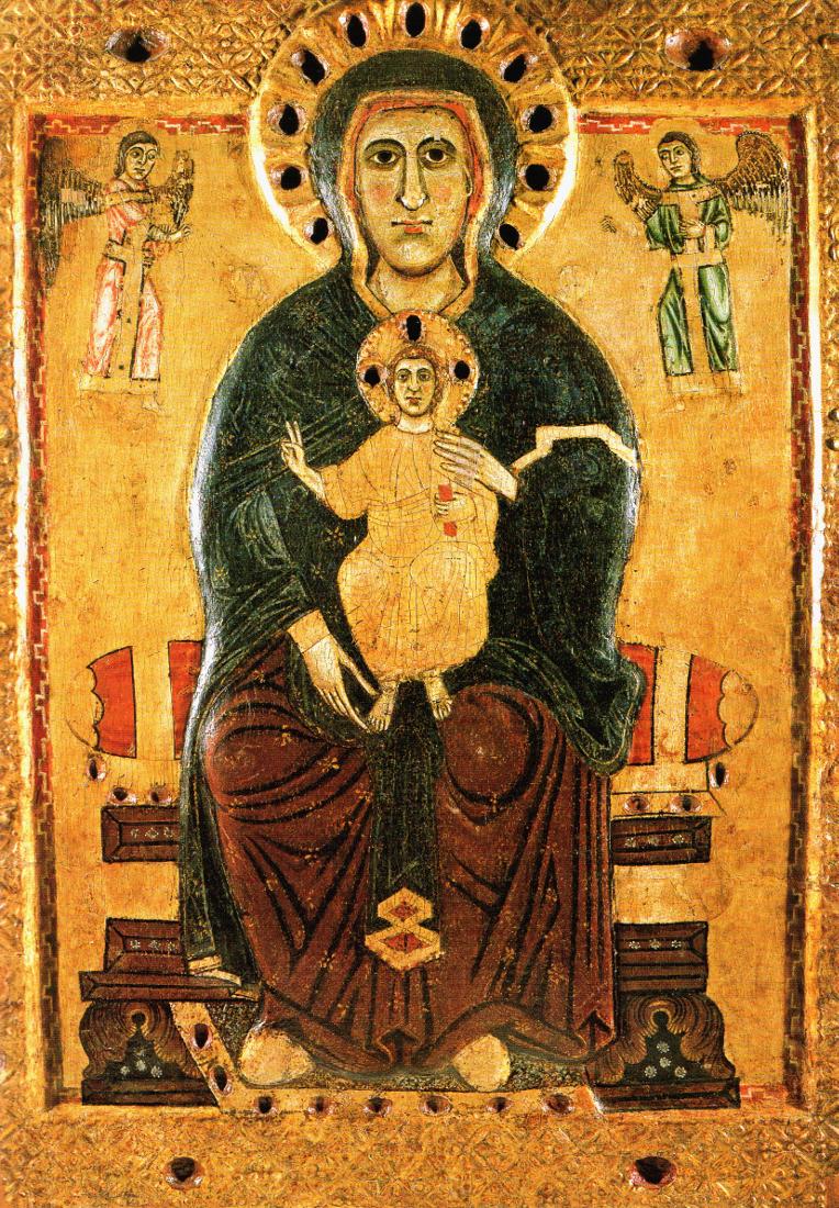 чудотворная икона в сиене