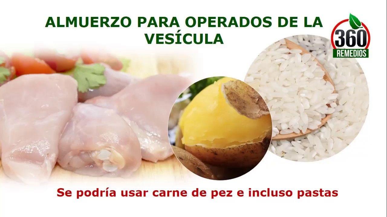 recetas de comidas para enfermos de vesicula