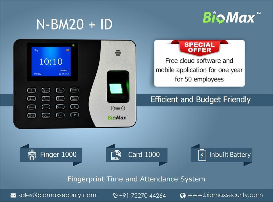 BioMax Biometrics offer Biomax, Biometrics, Face recognition