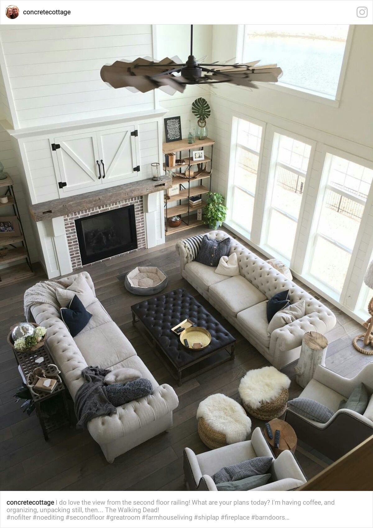 I like this living room set up! | HOME | Modern farmhouse ...