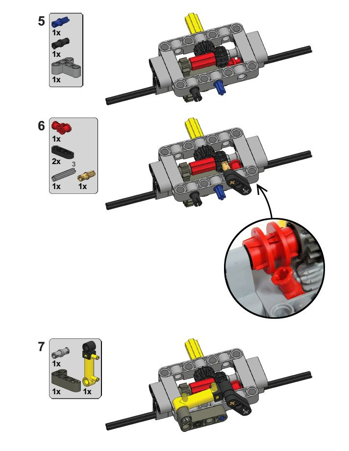 Simple Driven Non Steered Axle Assembly With A Differential Lock
