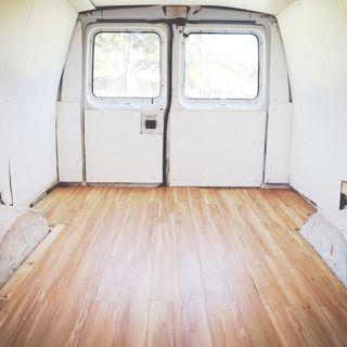 How To Install Click Flooring In A Van Mini Van Diy Camper