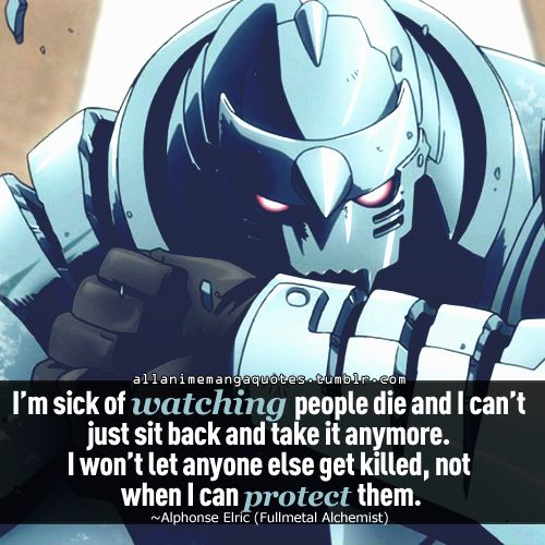 Day 13-anime Character Your Most Like-alphonse Elric. I