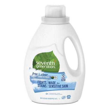 Seventh Generation Free And Clear Laundry Detergent 1 5l Laundry