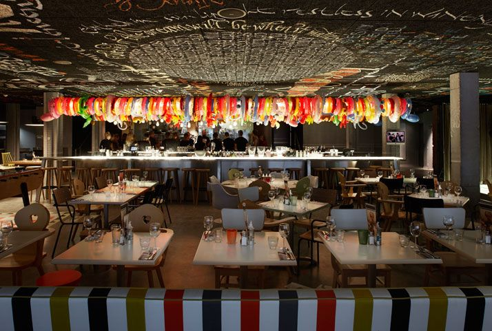 The new mama shelter hotel by philippe starck in bordeaux france yatzer