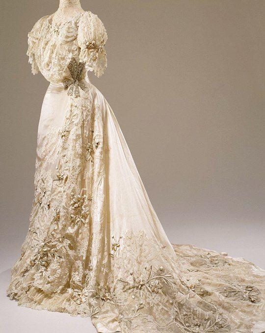 Свадебное платье эпохи модерна. hitchins & balcom, США, 1905 г. | s