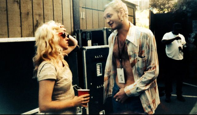 Layne Staley with Kat Bjelland(Babes in Toyland) in 1993 #alice in chains