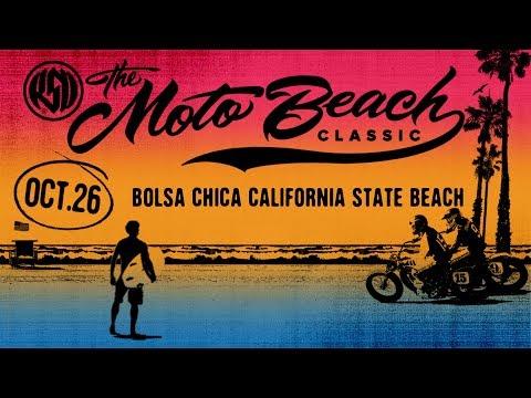 Huntingtonbeach 10 26 27 Cars Motorcycles Roland Sands Moto Beach Classic Beach Biker Life Surf Competition