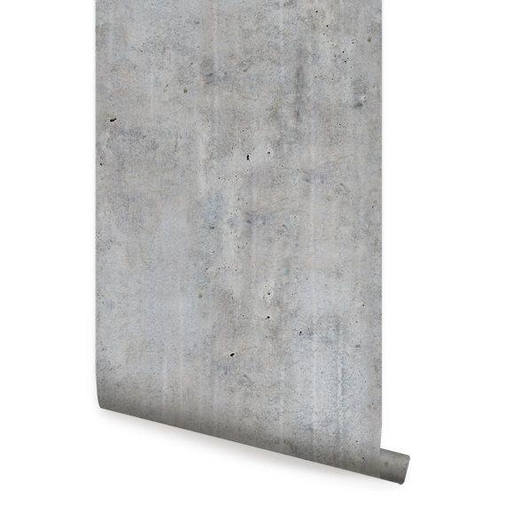 Zement Beton Peel & Stick Stoff Tapete Repositionable