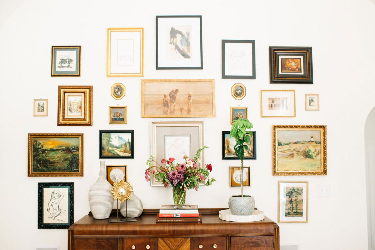 A Renovated English Tudor With A Modern Day Soul Gallery Wall