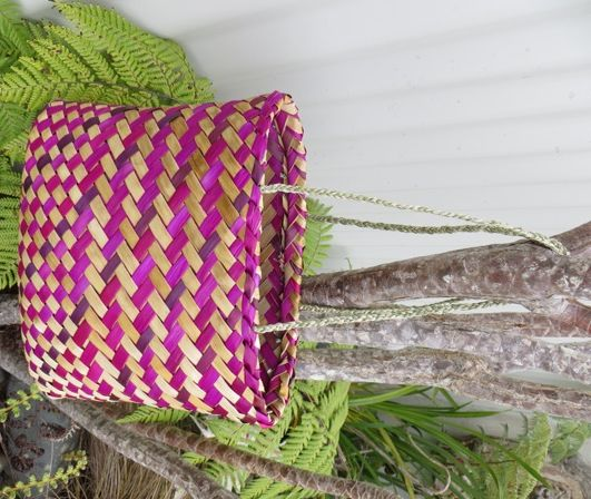 Flax Weaving - Kete