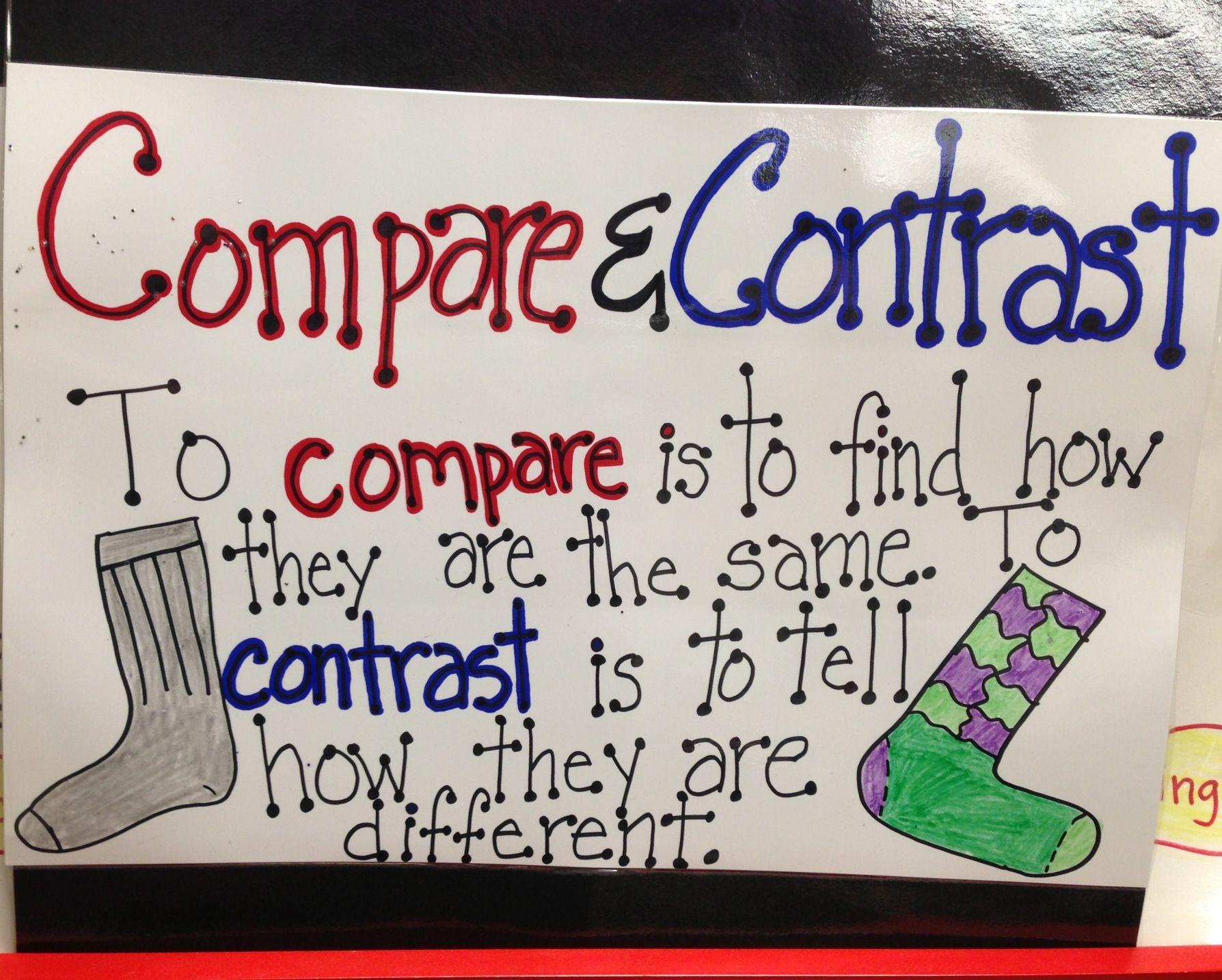 001 Compare & contrast School Posters & more Compare