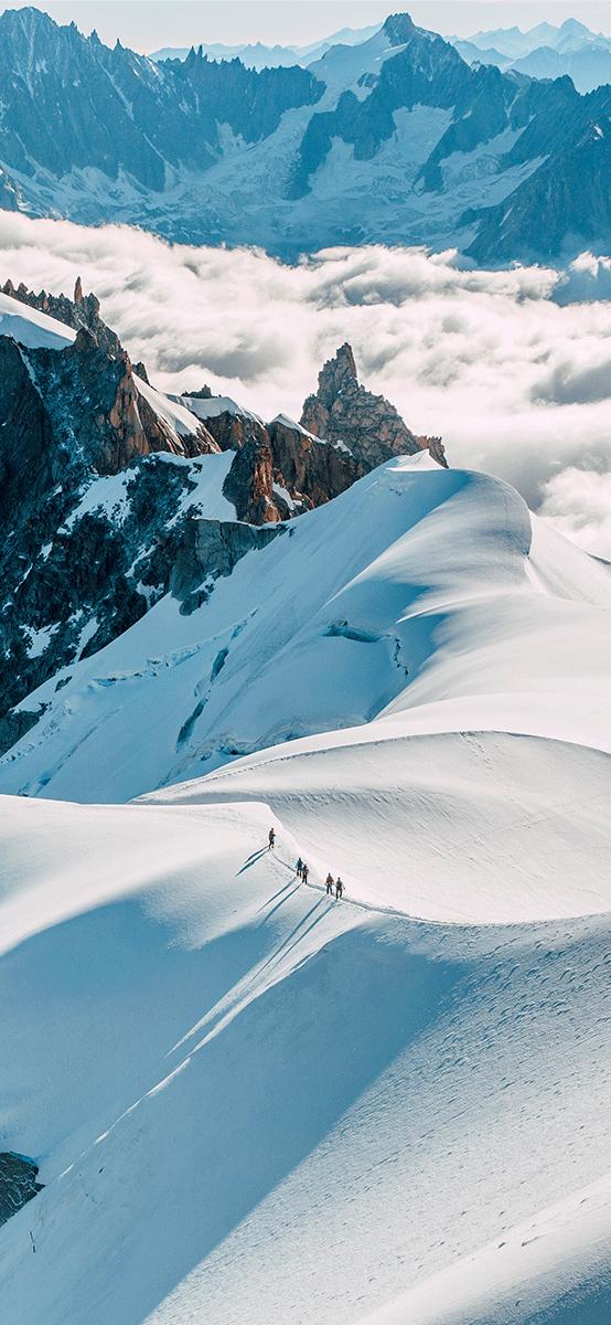 Chamonix France Paysage Neige Montagne Paysage De Neige Photo Fond Ecran Montagne