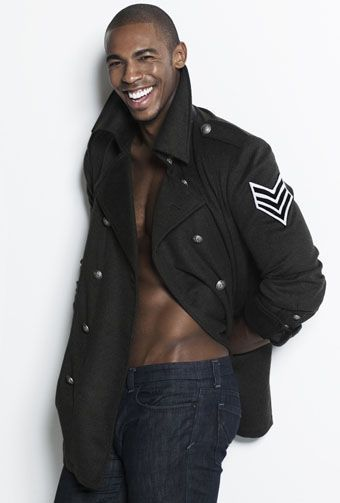 Mehcad Brooks.... oh my god i think my pulse just went through the roof.