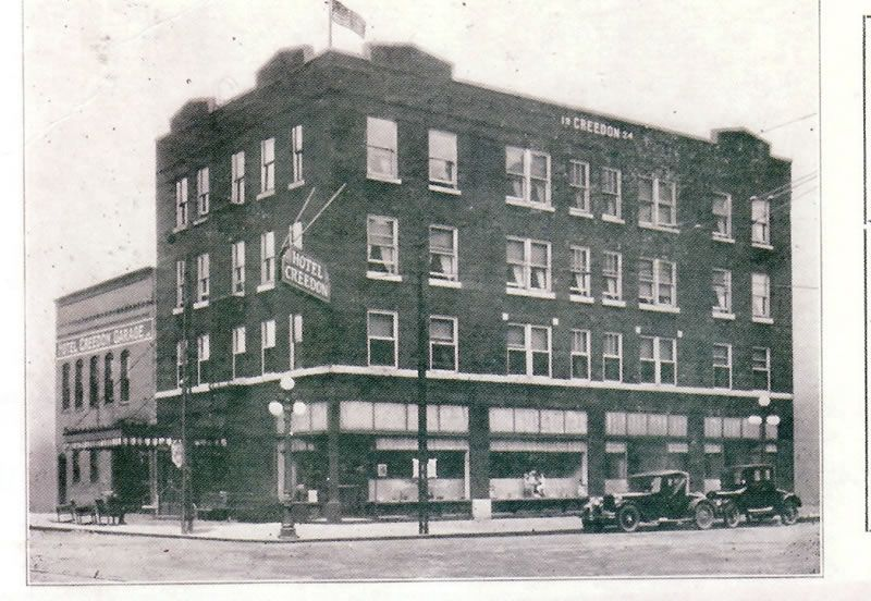 Hotel Creedon Ottawa Illinois This View Is Taken From The Intersection Of Columbus And