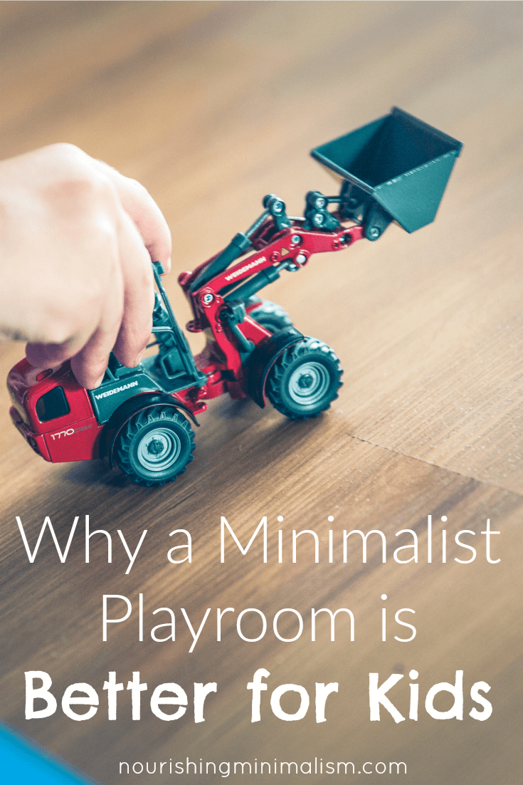 Why A Minimalist Playroom Is Better For Kids Playroom