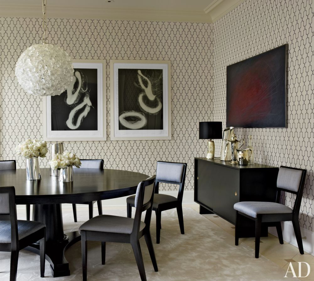 Contemporary Dining Room By S. Russell Groves In Raleigh