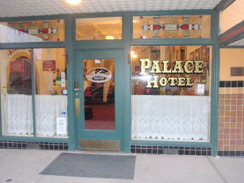 The Front Of Palace Hotel Located In Historic Downtown Arts Cultural District Silver City