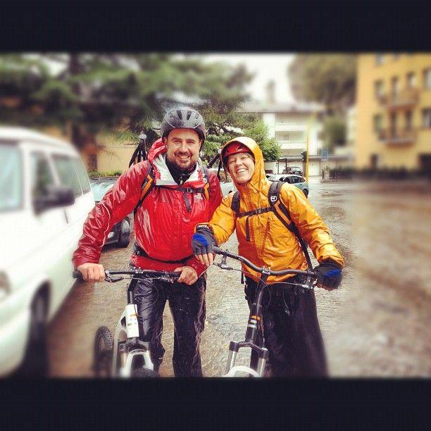 #trento #skyver #zodebala discesa in #skyver dal #bondone #igerstrento