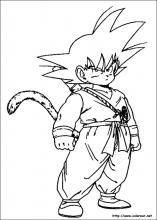 Dibujos de Dragon Ball Z para colorear en Colorearnet  Print
