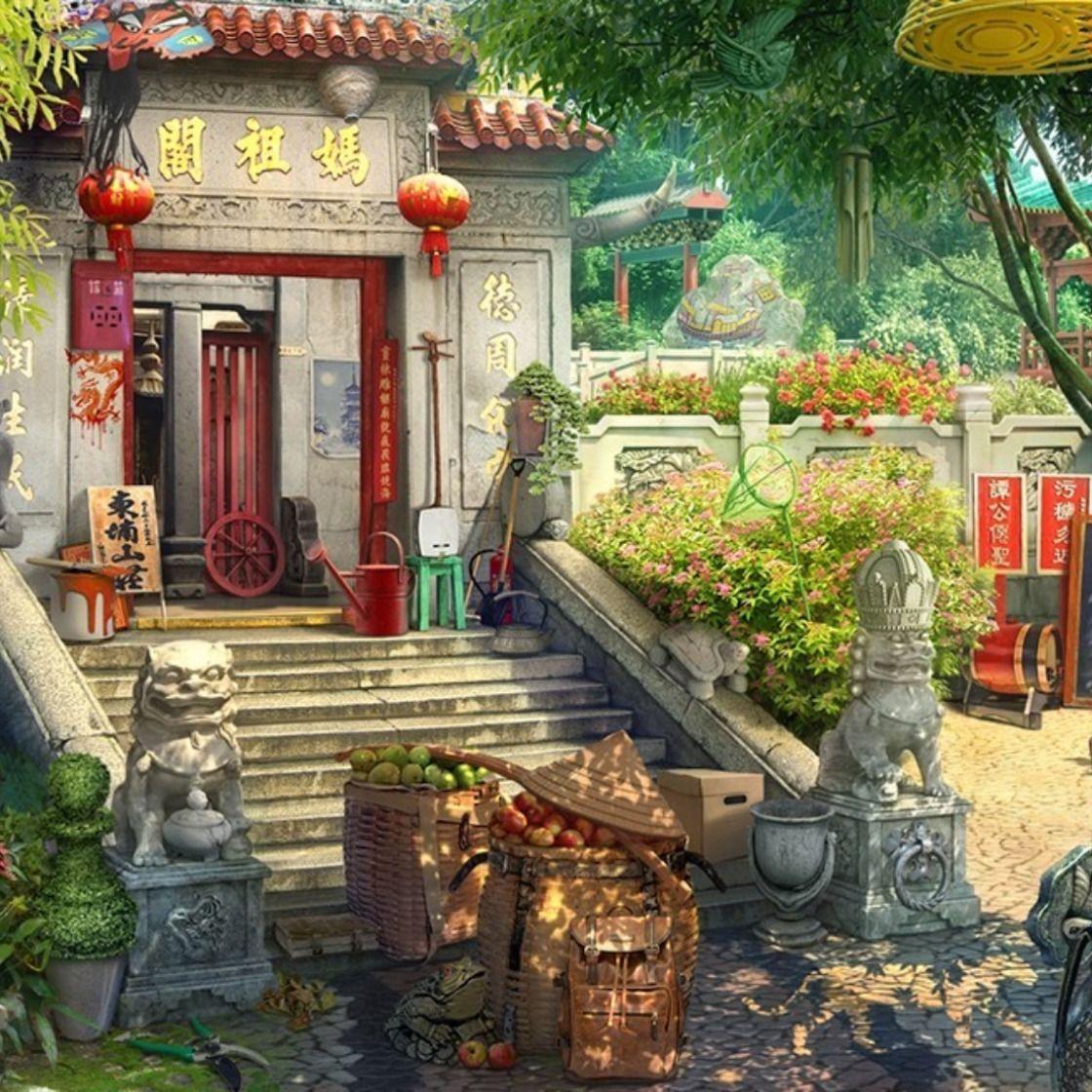 2D environment for hidden objects game in 2020 Hidden