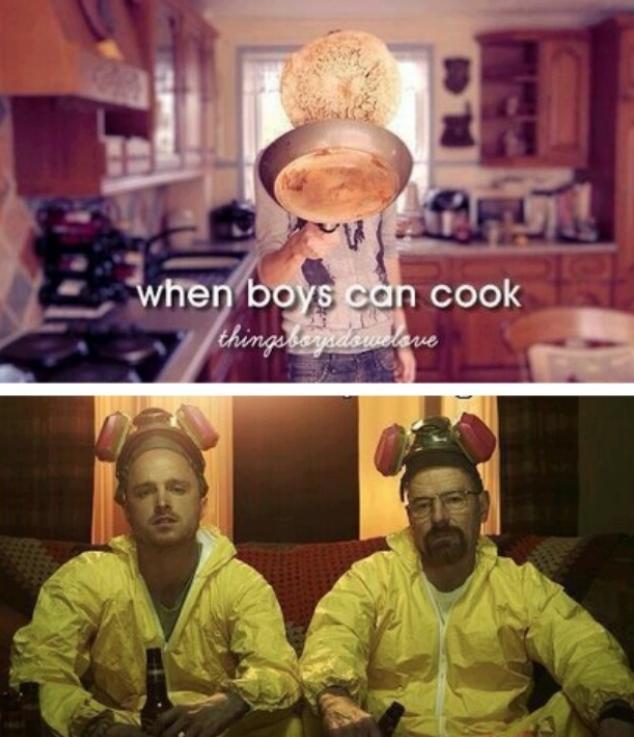 Breaking Bad Cooking