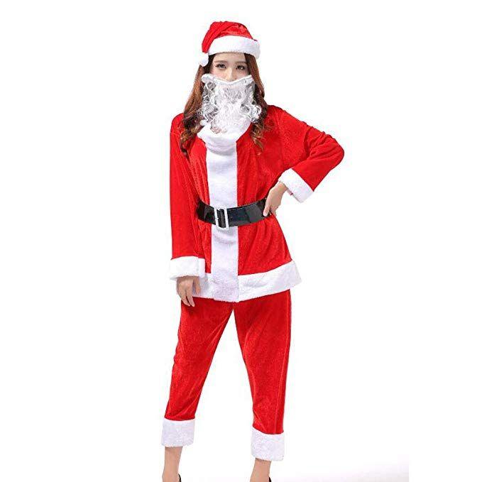 Scaricare HUAN Vestito da Babbo Natale per Adulti Regal