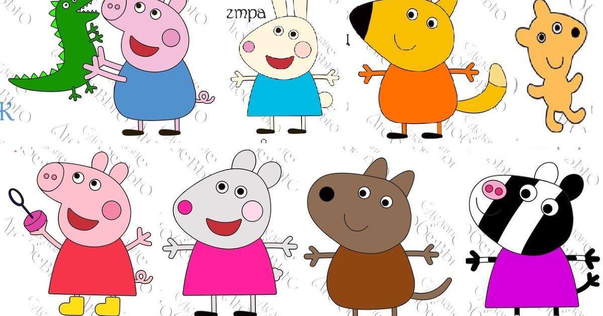 Moldes Da Peppa Pig Para Artesanato Em Feltro Molde Da Peppa