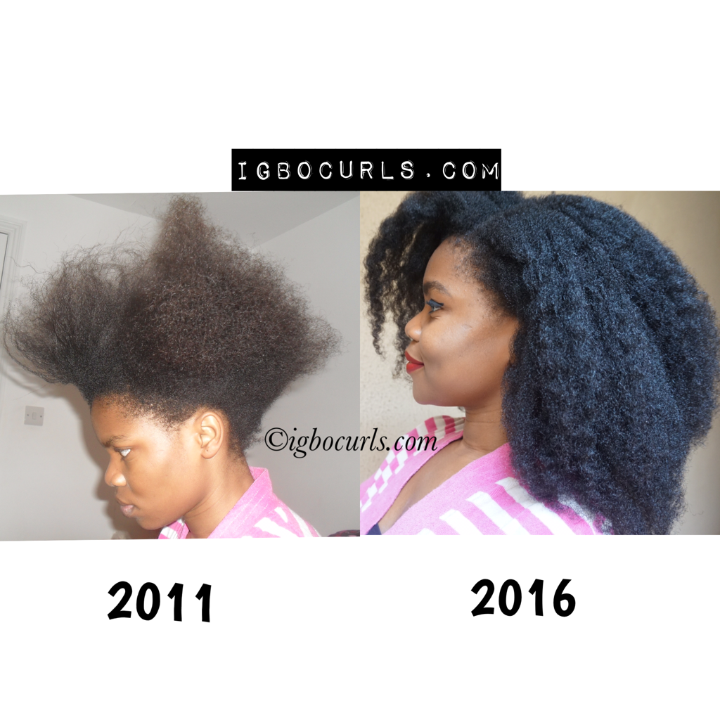 Unhealthy Relaxed Hair to Healthy Natural Hair. Igbocurls ...