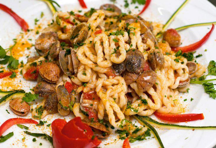 lorighittas arselle bottarga #clams #ricettedisardegna #sardegna #sardinia #food #recipe