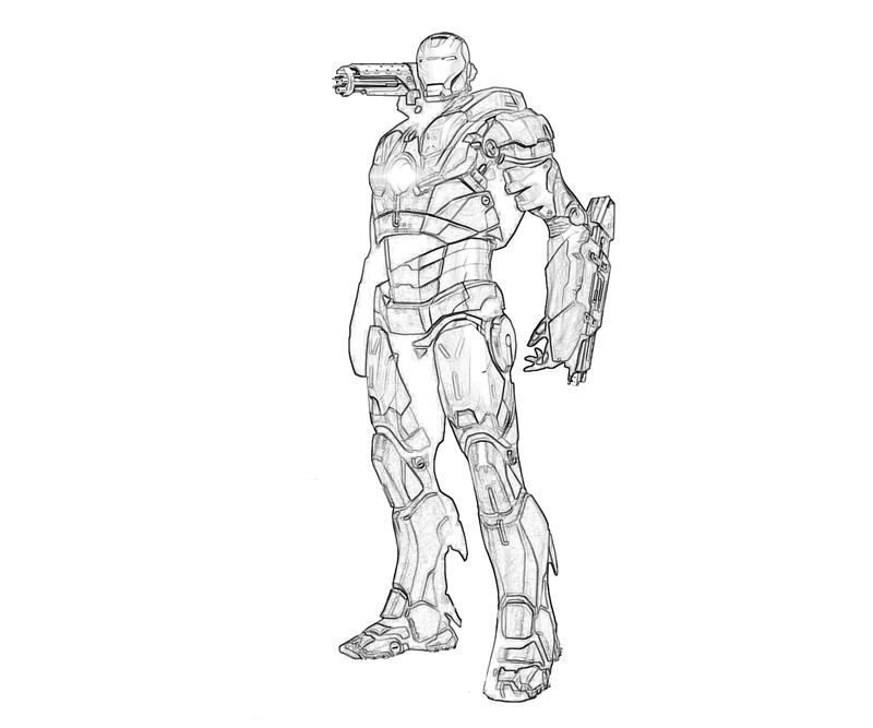 War Machine Coloring Pages Marvel Coloring Coloring Pages Drawings
