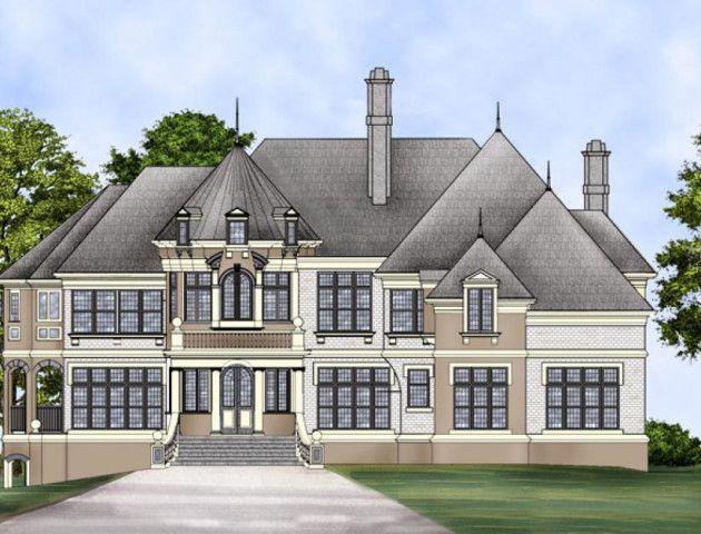 Best Kildare Place House Plan House Plans Castle House Plans 640 x 480