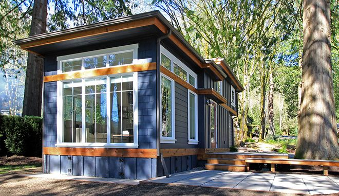 Big Plans Little Budget Soffit B Gone: The Salish: Residential Park Models & Small Homes