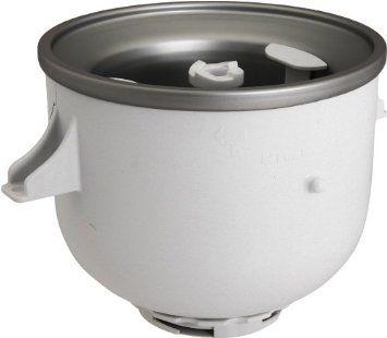 Ice Cream Maker Attachment #KICA0WH or #KICA $79.99 2 qt freeze bowl on