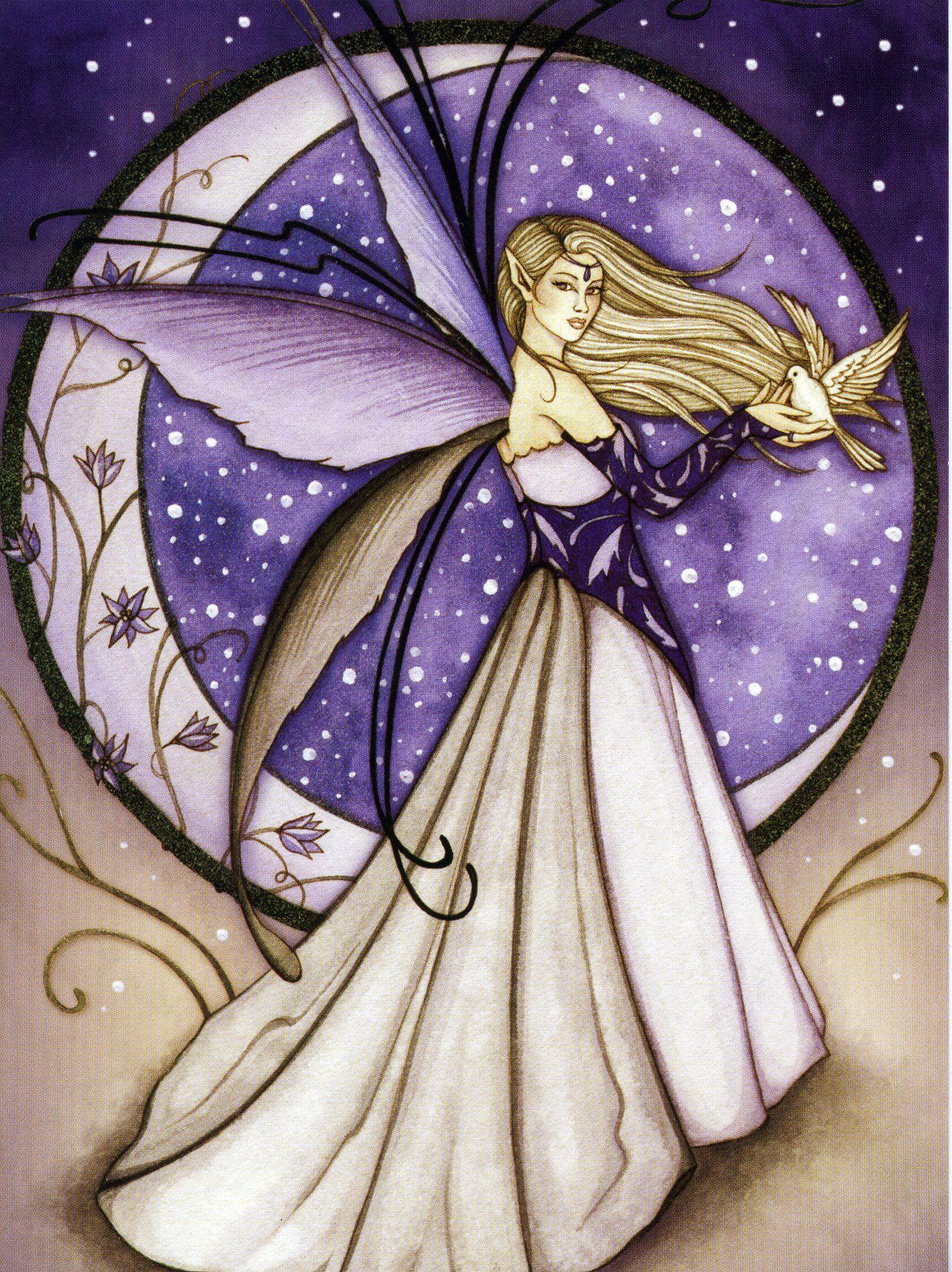Moon Fairy Jessica Galbreth Art & Illustrations