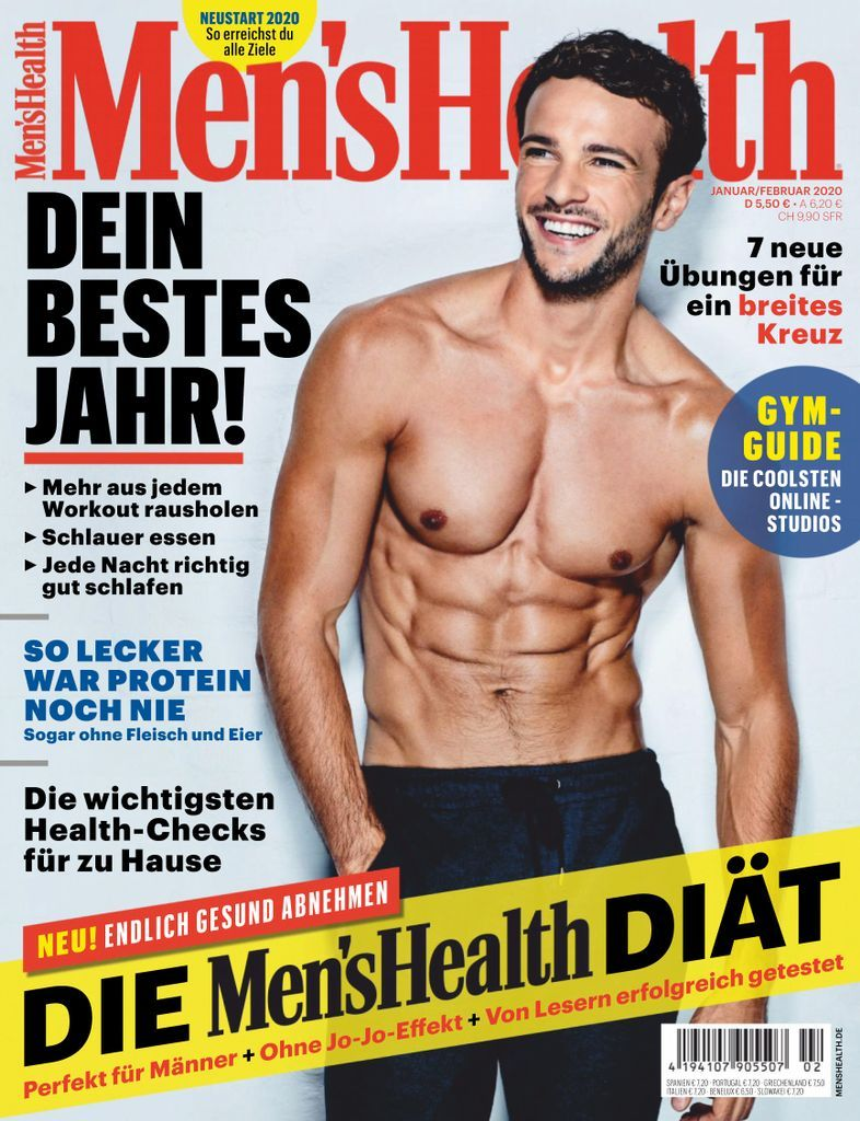 Men's Health Deutschland Back Issue 01+02/2020 (Di