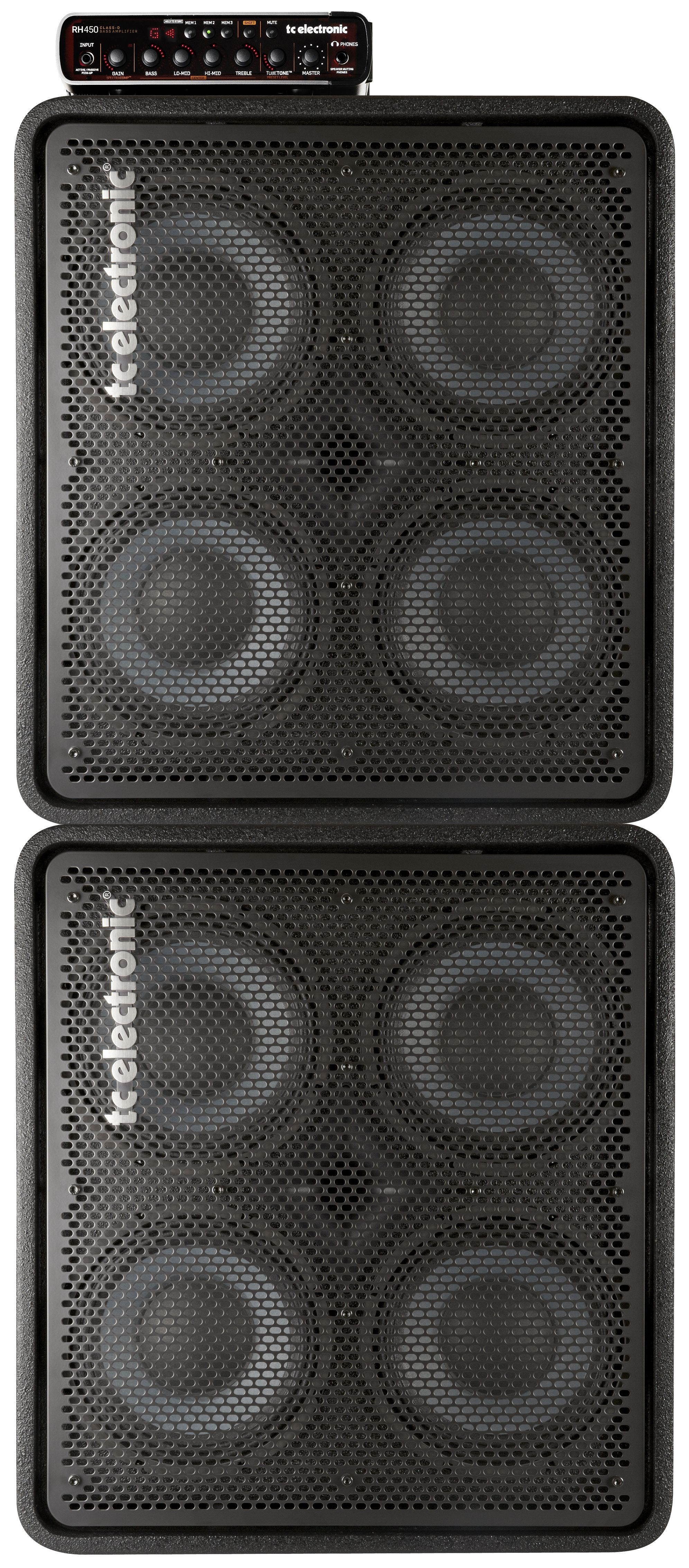 tc electronic rh450 bass head rs410 cabinets full stack bass guitar guitar guitar amp bass. Black Bedroom Furniture Sets. Home Design Ideas