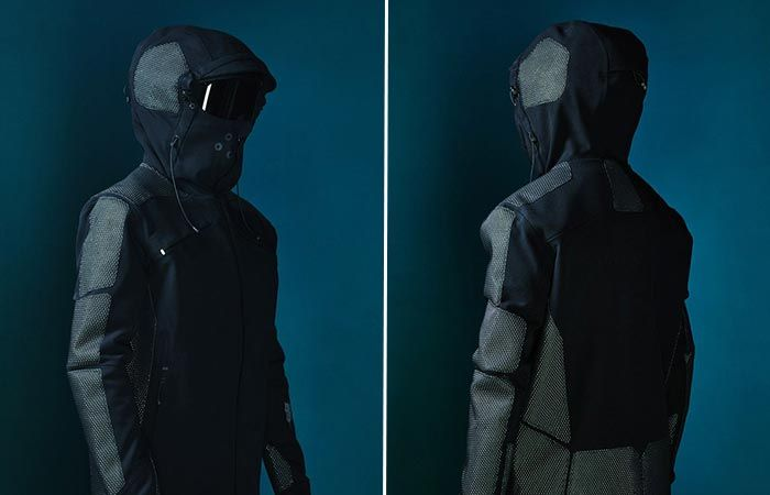 "6760eb151f3 VOLLEBAK CONDITION BLACK JACKET -- Designed to be a ""battle armour for snow  sports and adventure"""