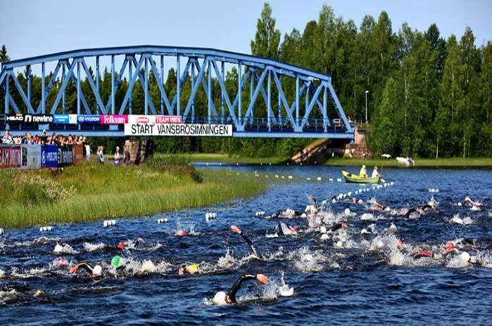 The event in this difficult to pronounce city is actually Europe's largest open water swim. Women pa... - vansbrosimningen.se