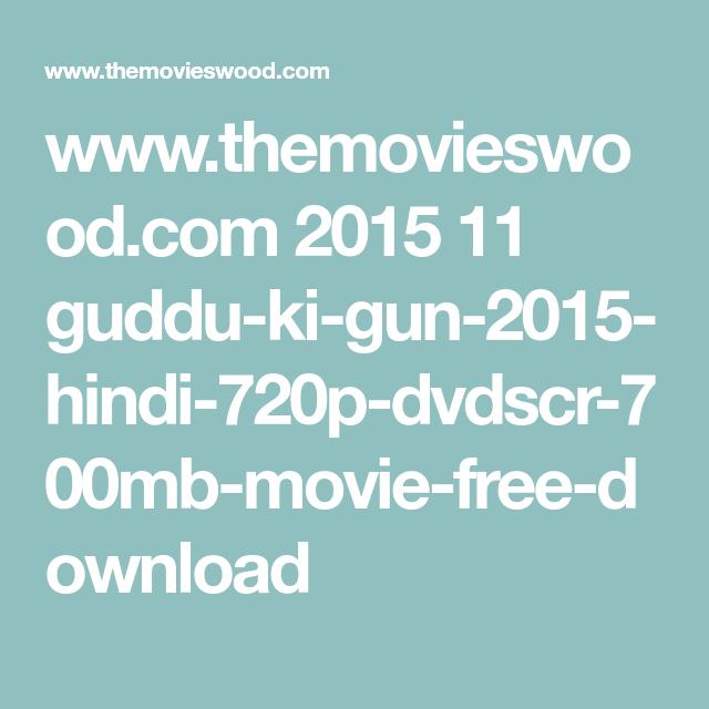 download Guddu Ki Gun movie free in hindi