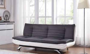 Groupon Seattle Fabric Three Seater Sofa Bed With Free Delivery Deal Price