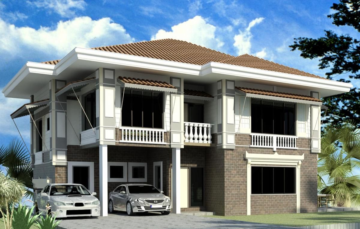 Modern bahay na bato style bahay na bato pinterest for Modern architecture house design philippines