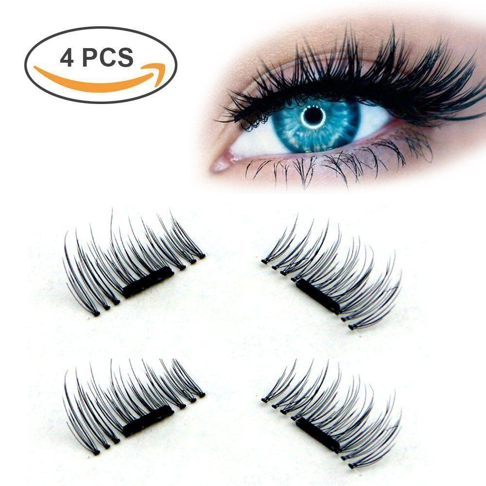 Magnetic False Eyelashes No Gluenatural Handmade Extension Fake