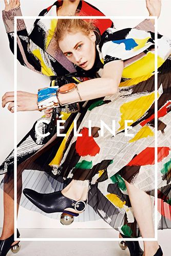 Céline's Spring '14 Campaign Should Be Hanging In A Gallery #refinery29