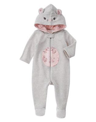 Mouse Hooded 1-Piece