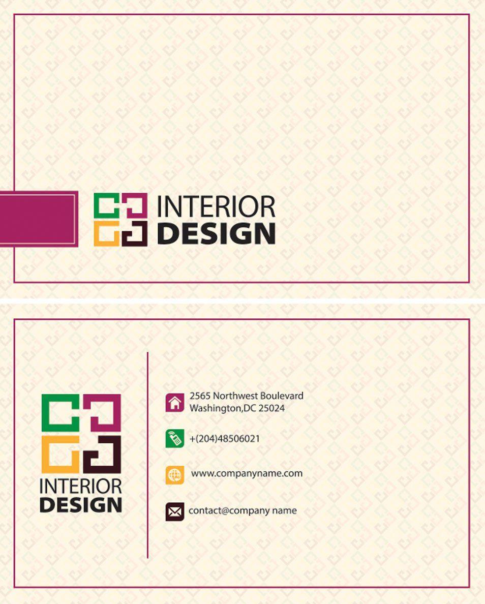 interior design business card cards | 명함 | Pinterest | Interior ...