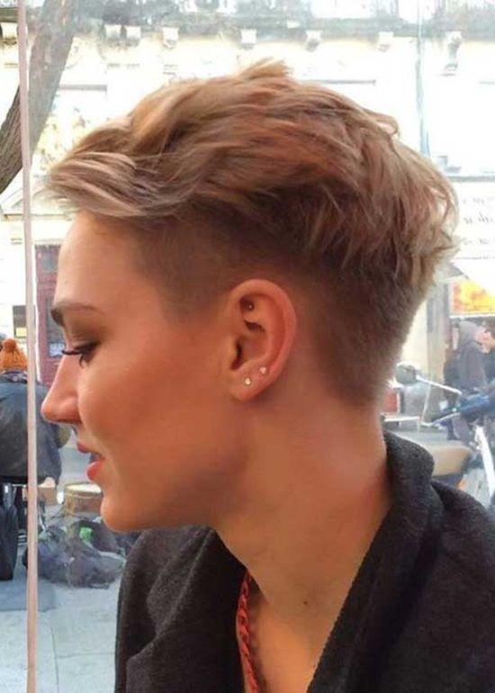 40 Coole Kurze Frisuren – Neue Kurz Haarschnitte //  #Coole #Frisuren #Haarschnitte #Kurz #Kurze #neue