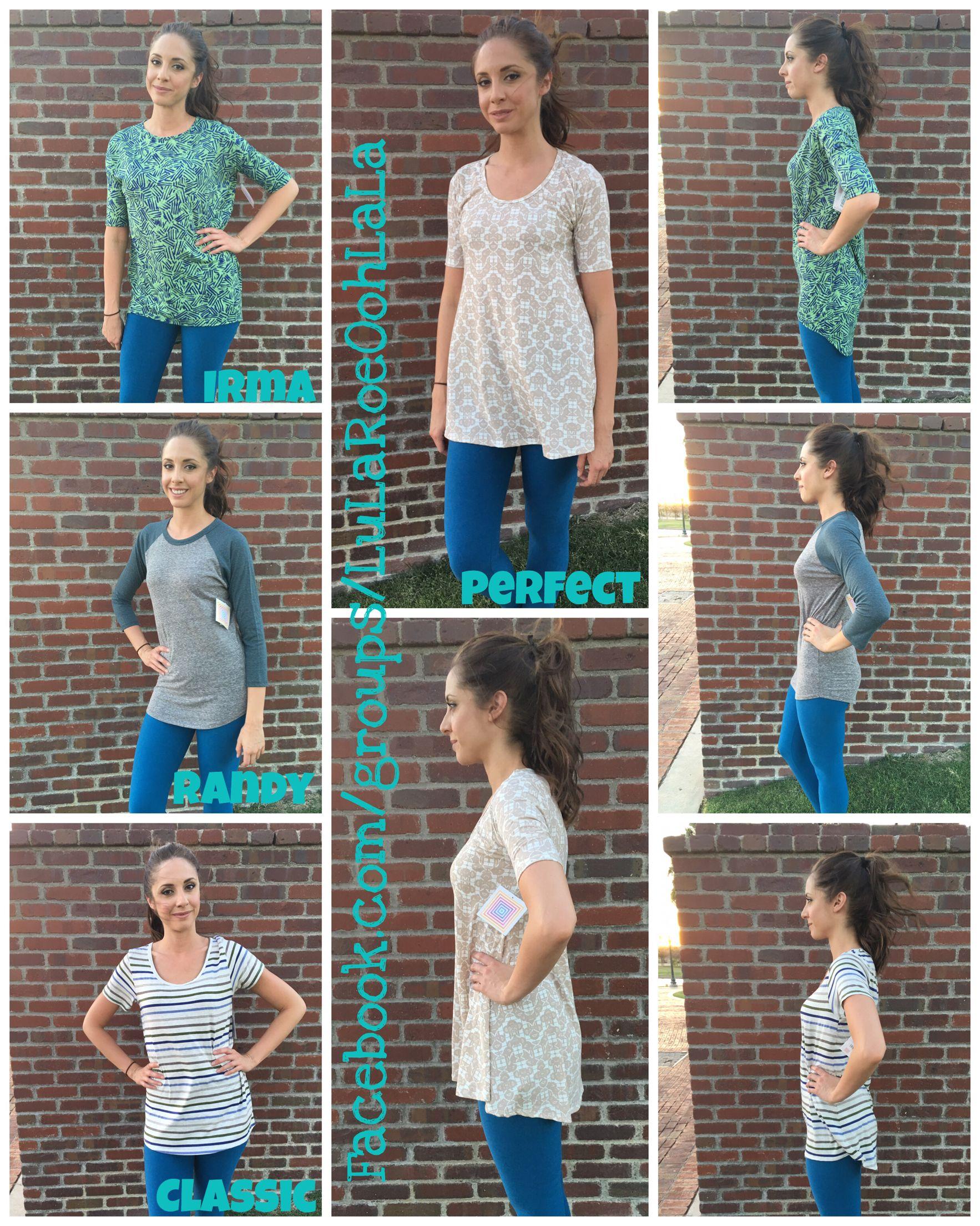 Leggings New Lularoe Irma Shirt S Modern Design Clothing, Shoes & Accessories